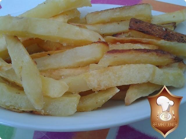 batata frita assada