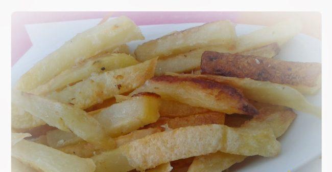 batata frita assada no forno