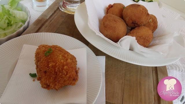 peixe frito recheado de queijo