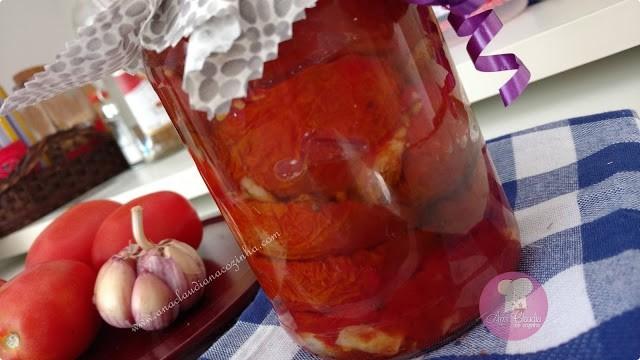 receita de tomate seco caseiro