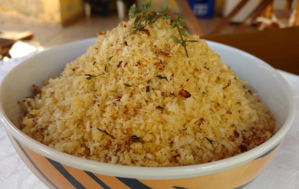 farofa de panko (farinha oriental)