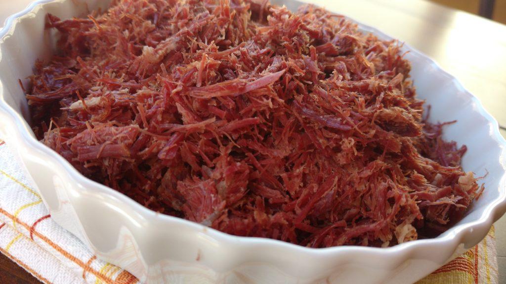 dessalgue ultra rápido da carne seca