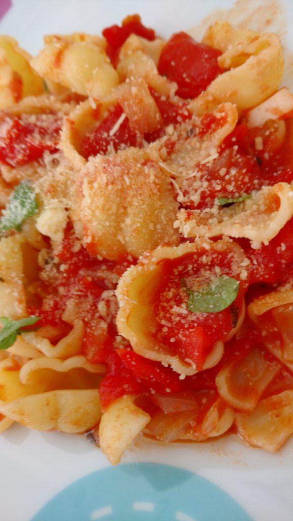 molho caseiro de tomate rústico
