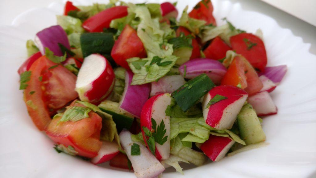 salada mista ´árabe