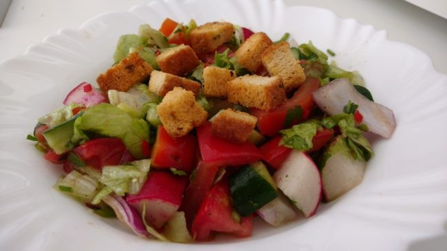 salada árabe mista