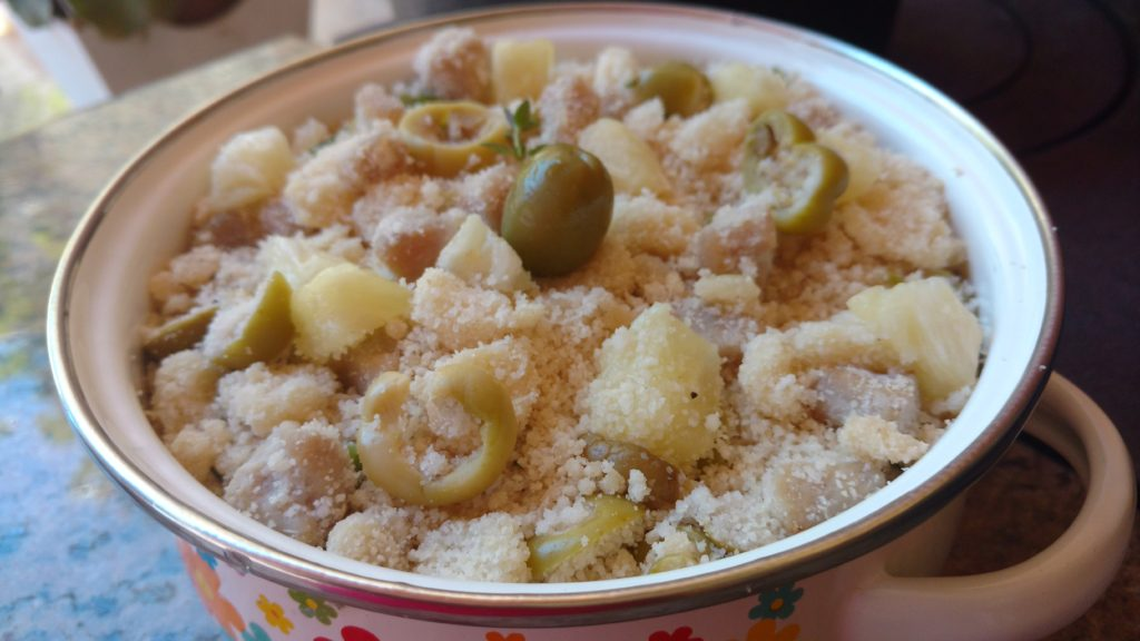 farofa de lombo com abacaxi para o natal dom manjericão