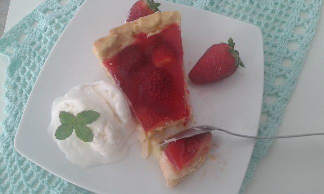 torta de frutas - morango