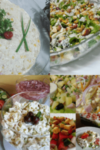 8 saladas para o natal e ano novo
